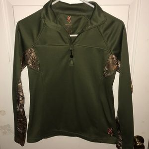Browning- Quarter Zip Pullover